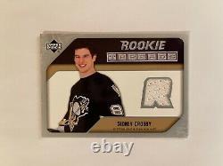 05-06 Upper Deck Rookie Threads Sidney Crosby (White Jersey)