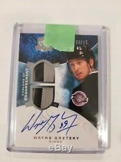 08-09 Upper Deck The Cup Wayne Gretzky Emblems of Endorsements /15