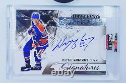 15 16 Upper Deck Premier Wayne Gretzky Legendary Signatures Auto Autograph