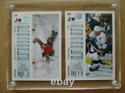 1990-91 Upper Deck WAYNE GRETZKY and PATRICK ROY PROMO CARDS Original Case #241