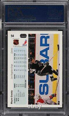 1990 Upper Deck French Wayne Gretzky #54 PSA 10 GEM MINT