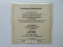 1990 Upper Deck Wayne Gretzky Official Autograph Certificate of authenticity