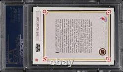1991 Upper Deck 50/50 Club Wayne Gretzky Hull Mario Lemieux #45 PSA 10 GEM MINT
