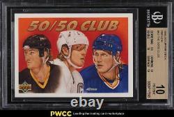 1991 Upper Deck French The 50/50 Club Wayne Gretzky #45 BGS 10 PRISTINE