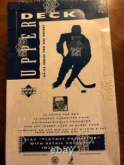 1994-95 Upper Deck Series 2 NHL Hockey Retail Case with Factory Sealed 20 Boxes
