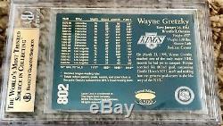 1994 UDA Upper Deck Wayne Gretzky 24K Metal Gold /3500 Graded BGS Gem Mint 9.5