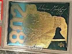 1994 UPPER DECK WAYNE GRETZKY 802nd GOAL 24K GOLD METAL PSA 10 GEM MINT