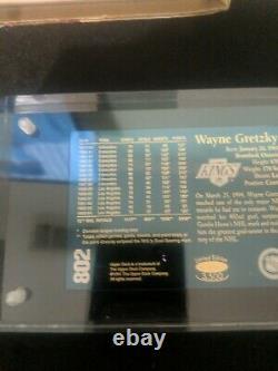1994 Upper Deck 24K Gold 802 Goals 2499/3500 Wayne Gretzky HOF