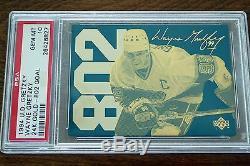 1994 Upper Deck Gretzky 802 Goal 24k Gold Metal