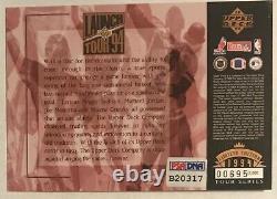 1994 Upper Deck MICHAEL JORDAN Wayne GRETZKY Joe MONTANA PSA/DNA Auto Autograph