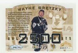 1995 Upper Deck SP Authenticated Wayne Gretzky 2500 Points Autograph /1000 Auto