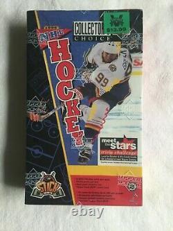1996-97 Upper Deck Collector's Choice Hockey NHL Sealed Box Gretzky Rare