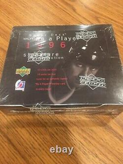 1996 Upper Deck Hockey Card Box Be A Player. Gretzky. Unopened