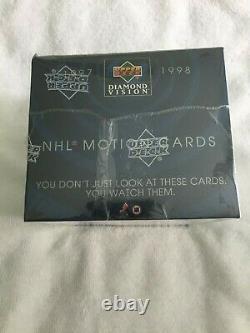 1997-98 Hockey Upper Deck Diamond Vision NHL Motion Cards Box Gretzky Rare