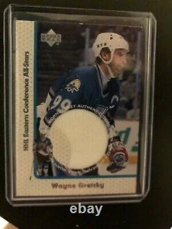1997-98 Upper Deck Wayne Gretzky Game Jersey