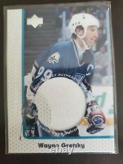 1997-98 Wayne Gretzky Upper Deck Game Jersey #GJ8 (First game worn card!)
