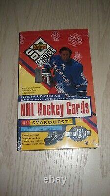 1998/99 UD Upper Deck Choice NHL Hockey 36 Pack HOBBY Box Factory Sealed GRETZKY