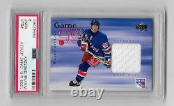 1998-99 Ud Upper Deck Game Worn Jersey Wayne Gretzky 2nd Year Psa 9! Gj1