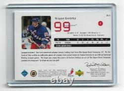 1998-99 Upper Deck Game Jersey Wayne Gretzky Gj1