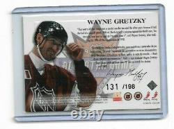 1998-99 Upper Deck Mcdonald's Jersey 131/198 Wayne Gretzky