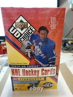1998/99 Upper Deck UD Choice NHL Hockey Box(36ct) Factory Sealed 36 pack box
