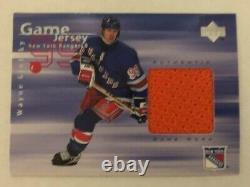 1998-99 Wayne Gretzky Upper Deck Game Jersey #GJ1 (Gretzkys 2nd Jersey ever)