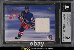 1998 Upper Deck Game Jerseys Wayne Gretzky PATCH #GJ1 BGS 9 MINT