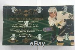 1999-00 Upper Deck Black Diamond Hockey Hobby Box Factory Sealed