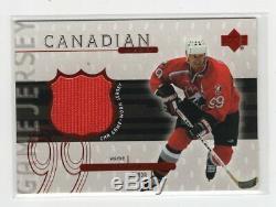 1999-00 Upper Deck Canadian Hero Game Used Jersey Wg3 Wayne Gretzky Rare
