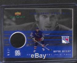 1999-2000 Upper Deck MVP Game Used Puck #GU-WG Wayne Gretzky