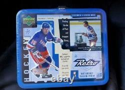 1999 Upper Deck Wayne Gretzky Retro Hockey Lunch Box with24 Pack Cards Sealed