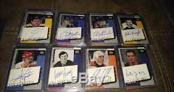 2000-01 Ud Epic Signatures On Card Auto Hockey Set Gretzky Howe Orr Upper Deck