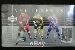 2000/01 Upper Deck NHL Legends Hockey Hobby Box New Sealed