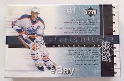 2001-02 Upper Deck Premier/Ultimate HK Collection Hobby Pack Rookie Auto/Jersey