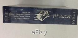 2001-02 Upper Deck SPX Hobby Hockey Box Factory Sealed