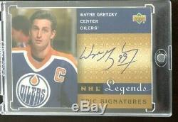 2001 Upper Deck Legends WAYNE GRETZKY Epic Signatures Oilers Auto SSP
