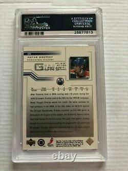 2001 Upper Deck Young Guns Flashback Wayne Gretzky PSA 10 #424 Gem Mint (Pop 1)