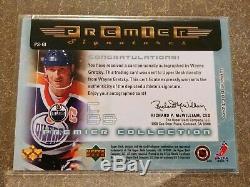 2003-04 Upper Deck Premier Wayne Gretzky Premier Signatures Auto Oilers PS-GI