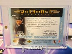 2004 WAYNE GRETZKY Upper Deck Premier Auto Autograph Signature On Card INVEST