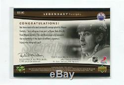 2005-06 Upper Deck Trilogy Legendary Scripts #LEG-WG Wayne Gretzky SP