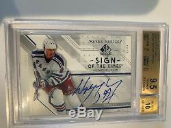 2006-07 Upper Deck Wayne Gretzky SP Authentic Sign of the Times