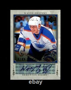 2007 Wayne Gretzky Upper Deck National Ud Signings 2/5 Oilers Auto 3355