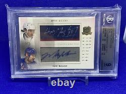 2009-10 Upper Deck The Cup Wayne Gretzky/ Mark Messier Duel Scripted Swatches /5
