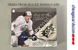 2010-11 Upper Deck SPx Hockey HOBBY Box (Crosby Gretzky Taylor Hall Patch AUTO)