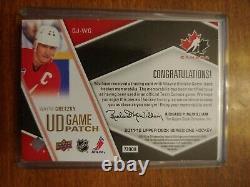 2011-12 Upper Deck Game Jerseys Patches #GJWG Wayne Gretzky 10/15! (179)
