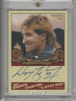 2011 Upper Deck Goodwin Wayne Gretzky Autograph # A-WG