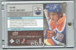 2012-13 Upper Deck Canvas Auto Wayne Gretzky #06/79 SUPER RARE