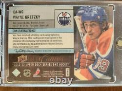 2012-13 Upper Deck Series 1 Canvas Wayne Gretzky 52/79 CA-WG RARE CARD