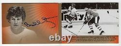 2014 Upper Deck Team Canada Signature Moments Booklet Auto /25 Bobby Orr Bruins