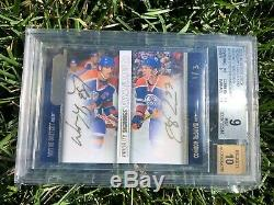 2015-16 Upper Deck Dual Priority Signings Wayne Gretzky / Connor Mcdavid Rc 1/3